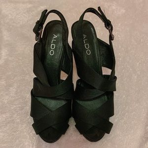 🎈2/$15🎈 Aldo Satin Strappy Heels, 9